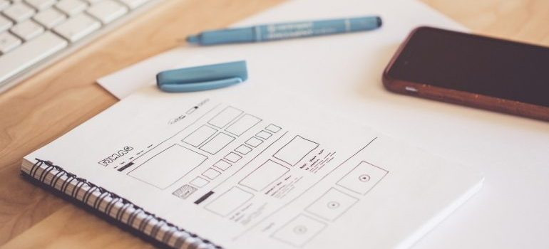 Layout for web design